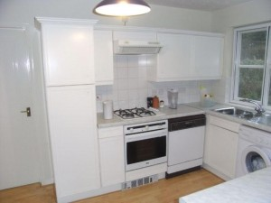 White Kitchen Units